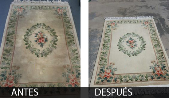 empresa limpia alfombras Madrid