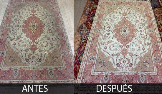 Limpieza de Alfombras en Moraleja de Enmedio Tintoreria de alfombras en Madrid. Recogida y Entrega Gratis