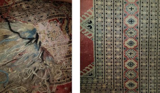 Arreglos de alfombras en Madrid. Recogida y Entrega Gratis